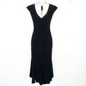 Joseph Ribkoff Black Midi Dress